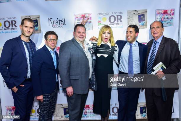 Ofir Fisher Michael Wicentowsky Elliot Wicentowsky Tobi Rubinstein John Cohen and Guest attend OR Movement Tahor Group Present NYFW Desert Flower by...