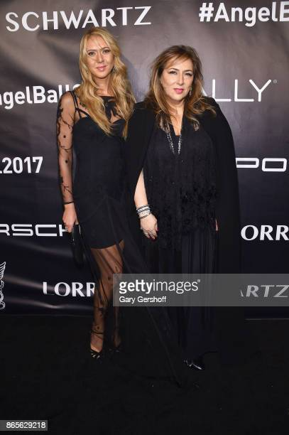 Ofira Sandberg and Lorraine Schwartz attend Angel Ball 2017 at Cipriani Wall Street on October 23 2017 in New York City