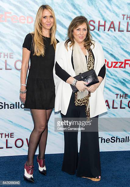 Ofira Sandberg and Lorraine Schwartz attend 'The Shallows' World Premiere at AMC Loews Lincoln Square on June 21, 2016 in New York City.