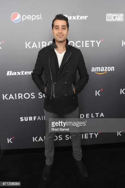 oFounder and CEO of Periscope Kayvon Beykpour attends the Kairos Society Global Summit At One World Observatory on April 21 2017 in New York City