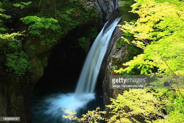 Ogama waterfall, Tokushima Prefecture