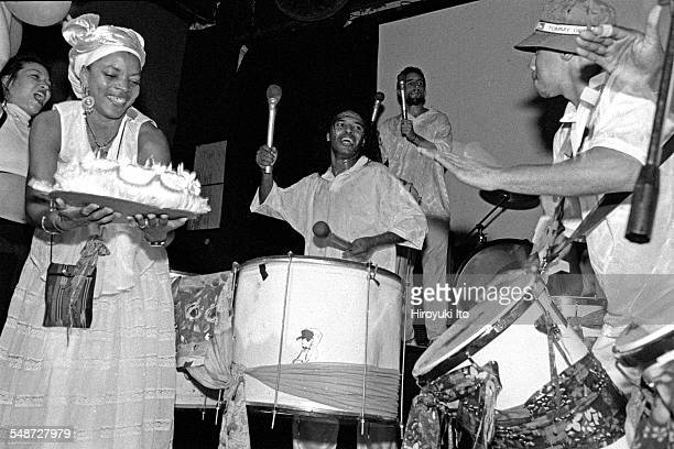 Ogans performing the music of Bahia Brazil at Rainbow Room on August 17 1999