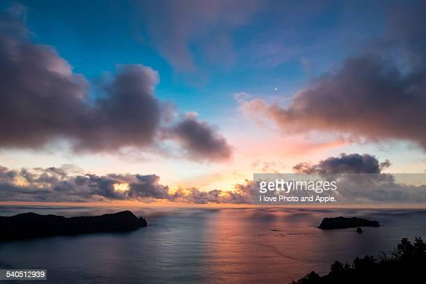 Ogasawara sunrise colours