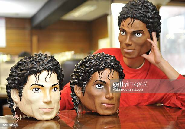 Ogawa Rubber Japan's top rubber mask maker unveils its new masks that resemble the late King of Pop Michael Jackson around the time when he released...