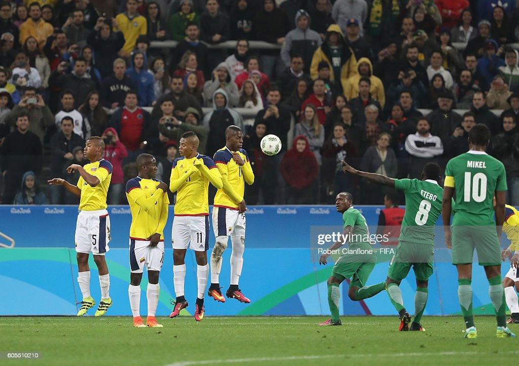Colombia v Nigeria: Men's Football - Olympics: Day 5