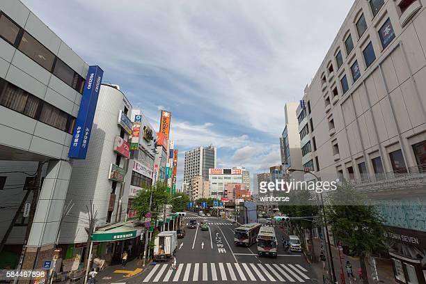 ogikubo, suginami ward, tokyo, japan - suginami stock photos and pictures