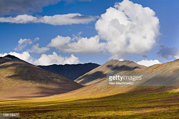 ogilvie mountains. tombstone territorial park, yukon, canada - territory stock pictures, royalty-free photos & images
