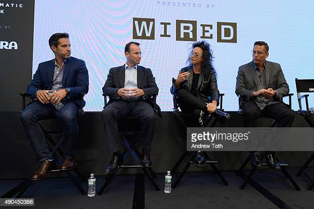 Ogilvy & Mather Worldwide Chief Digital Officer Brandon Berger, Adform Chief Strategy Officer Anthony Rhind, AOL Digital Prophet David Ching, and PwC...