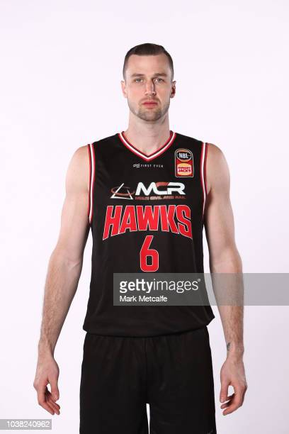 Ogilvy of Illawarra Hawks poses during the 2018/19 NBL media day at Bendigo Stadium on September 21 2018 in Bendigo Australia