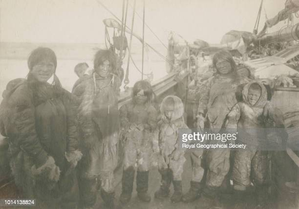 Ogluli aboard the Gjoa Norwegian Northwest Passage Expedition the aim of this expedition was to make the first complete journey through the Northwest...