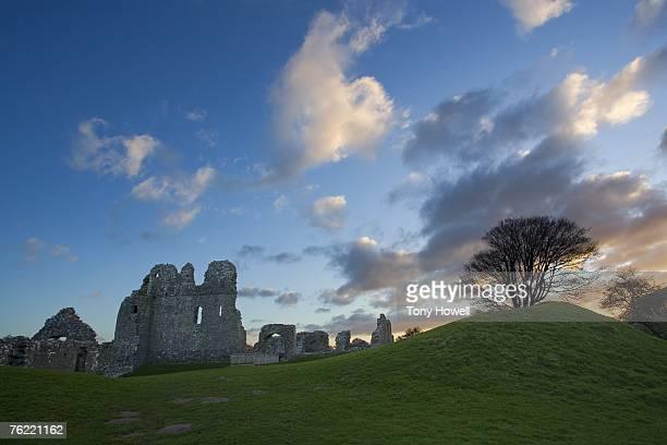 Ogmore Castle, Glamorgan, Wales, UK
