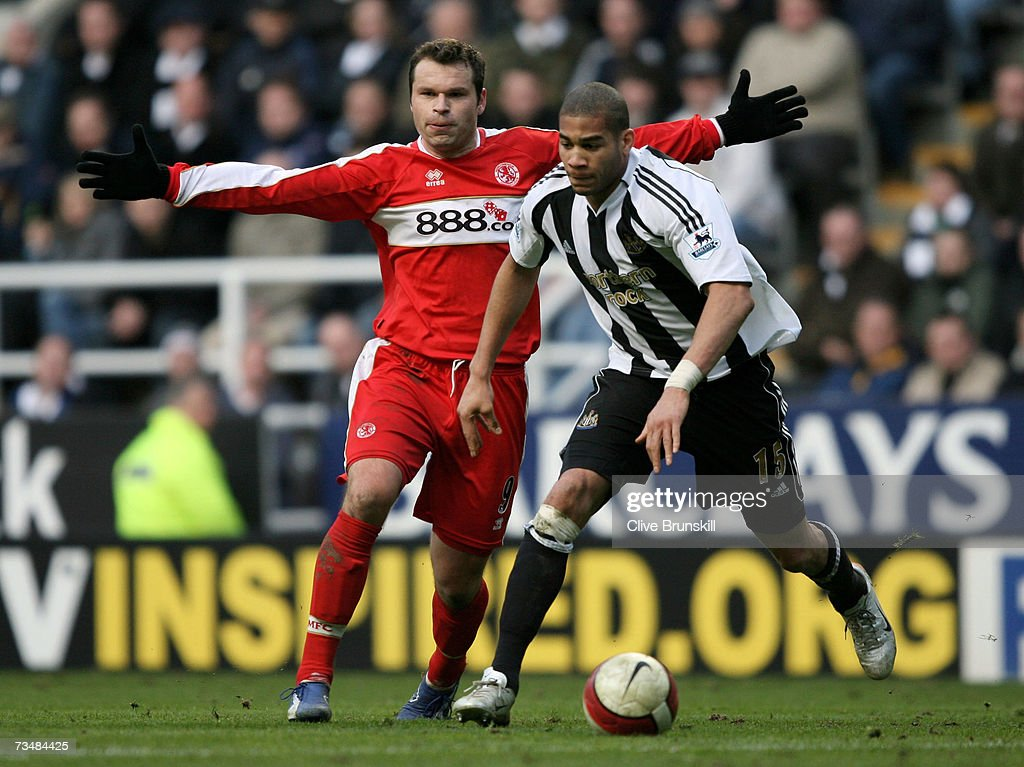 Newcastle United v Middlesbrough : News Photo
