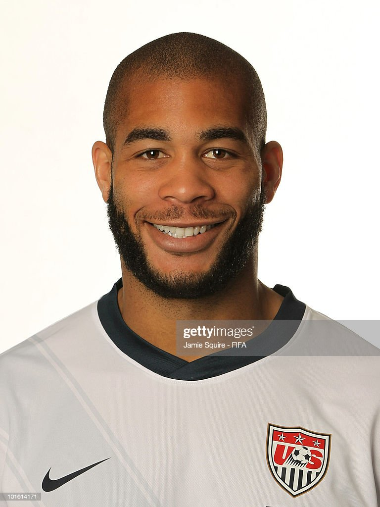 Oguchi Onyewu of USA poses during the official FIFA World Cup 2010 portrait session on June 3, 2010 in Centurion, South Africa.