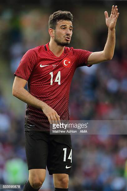 Oguzhan Ozyakup of Turkey during the International Friendly match between England and Turkey at Etihad Stadium on May 22 2016 in Manchester England