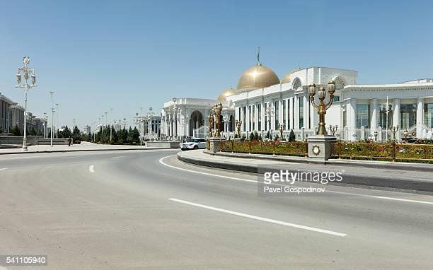 Oguzkhan Presidential Palace In Ashgabat, Turkmenistan.