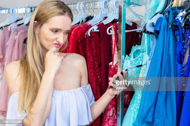 oh my god, the dress is way too expensive ! - expense stock pictures, royalty-free photos & images