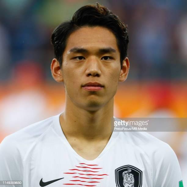 Oh Sehun of Korea Republic during the FIFA U20 World Cup Semi Final match between Ecuador and Korea Republic on June 11 2019 in Lublin Poland