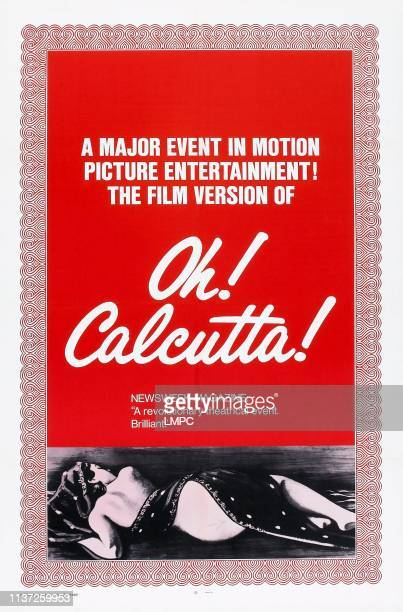 Oh1 Calcutta poster US poster 1972