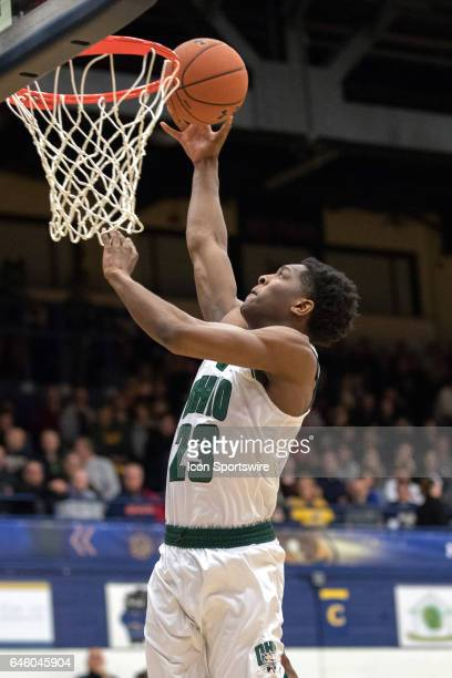Ohio Bobcats G Rodney Culver shoots during the first half of the men's college basketball game between the Ohio Bobcats and Kent State Golden Flashes...