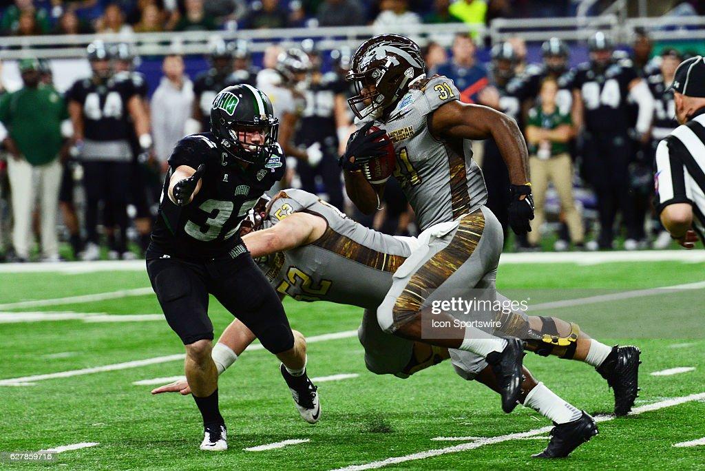 NCAA FOOTBALL: DEC 02 MAC Championship Game - Western Michigan v Ohio : News Photo