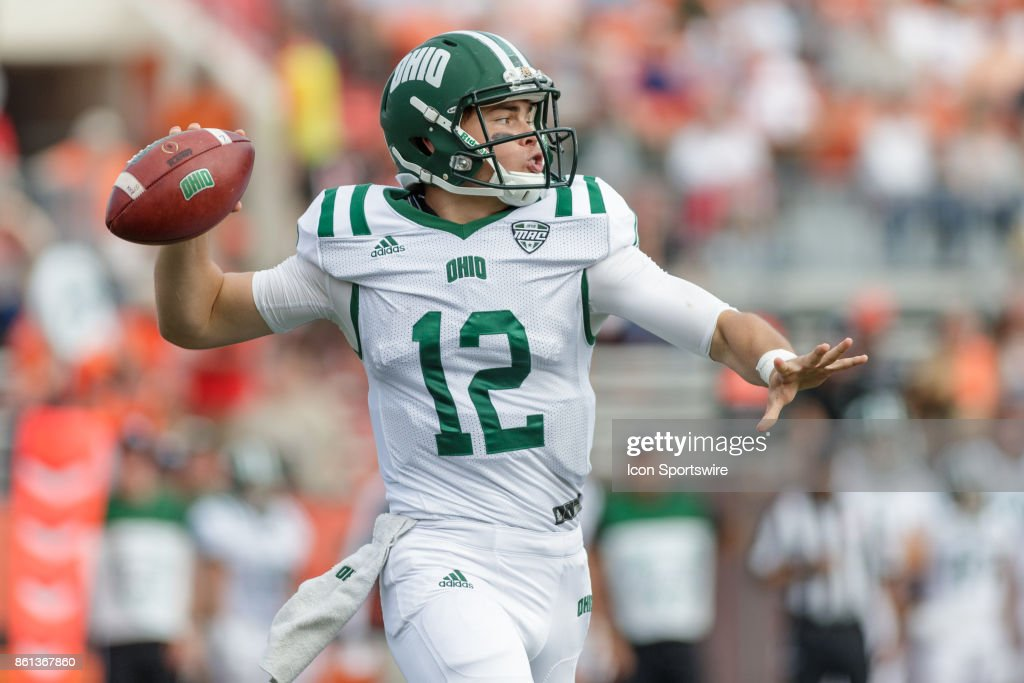 COLLEGE FOOTBALL: OCT 14 Ohio at Bowling Green : News Photo