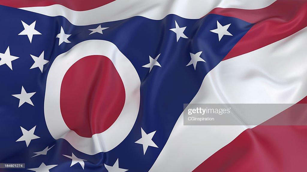 オハイオ州旗 : ストックフォト