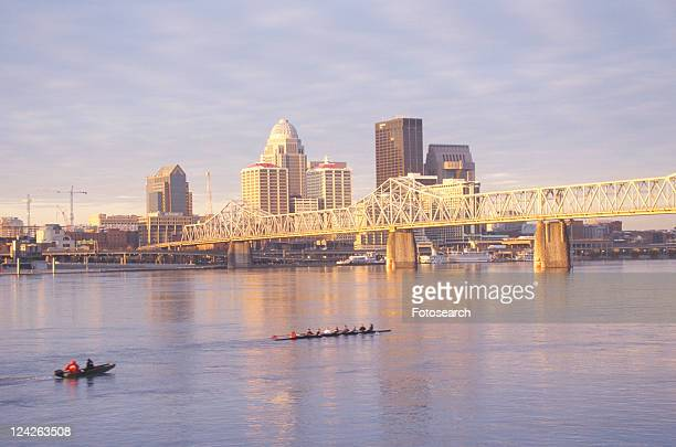 Ohio River and Louisville skyline