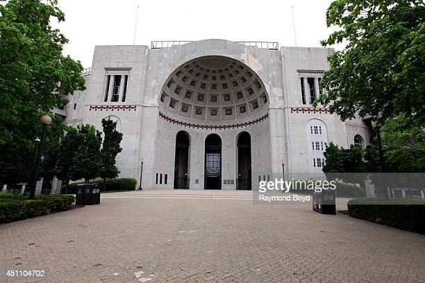 Ohio Stadium, home of the Ohio State Buckeyes football team on May 17, 2014 in Columbus, Ohio.
