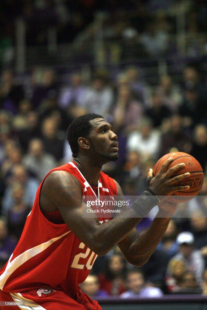 NCAA Men's Basketball - Ohio State vs Northwestern - January 24 , 2007