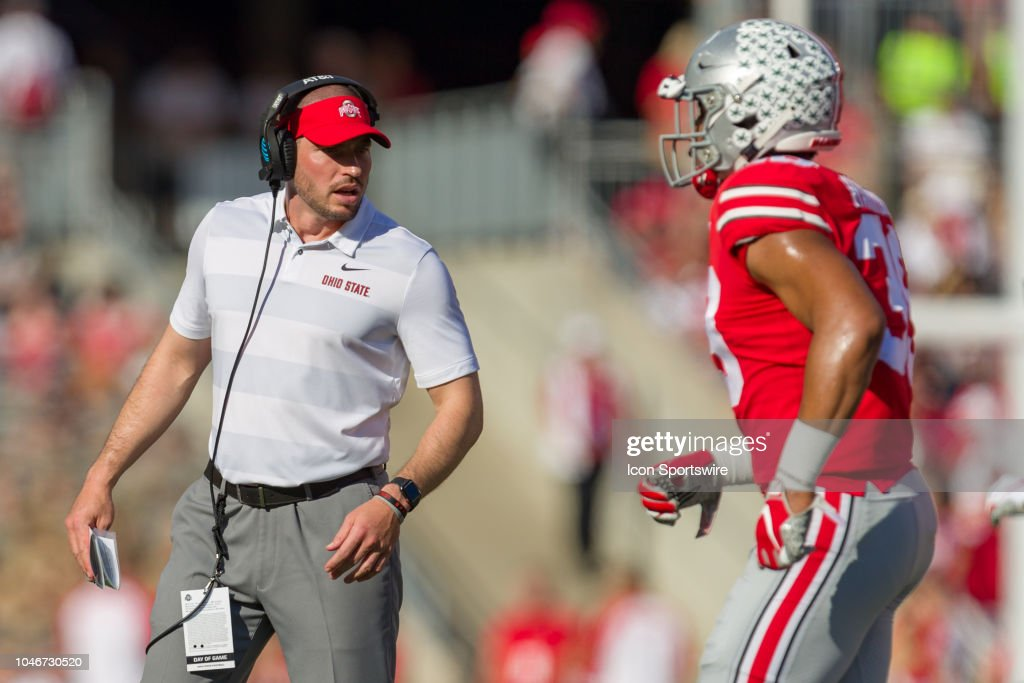COLLEGE FOOTBALL: OCT 06 Indiana at Ohio State : News Photo