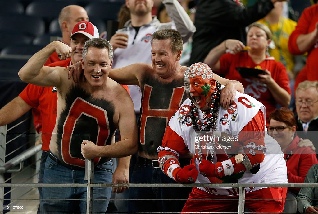 National Championship - Oregon v Ohio State : News Photo