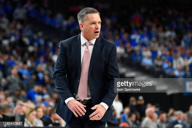 Ohio State Buckeyes head coach Chris Holtmann looks on during the CBS Sports Classic between the Ohio State Buckeyes and the Kentucky Wildcats on...