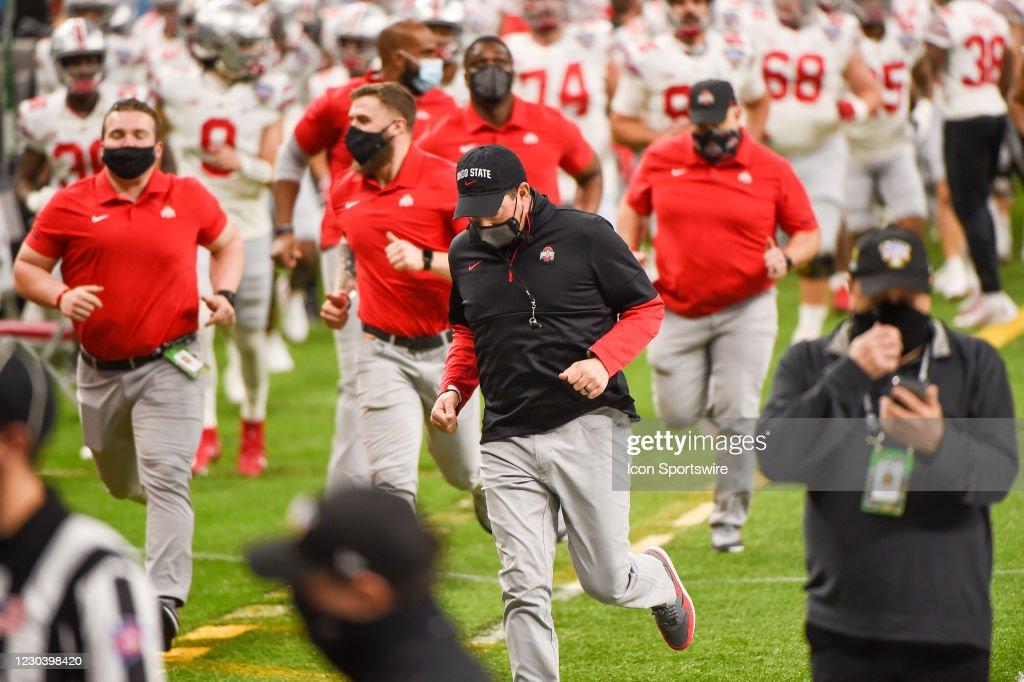 COLLEGE FOOTBALL: JAN 01 Allstate Sugar Bowl Semifinal Game - Ohio State v Clemson : News Photo