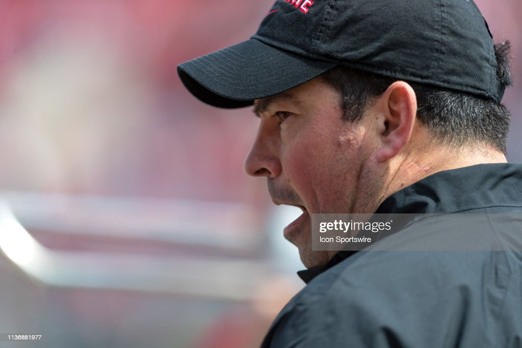 COLLEGE FOOTBALL: APR 13 Ohio State Spring Game : News Photo