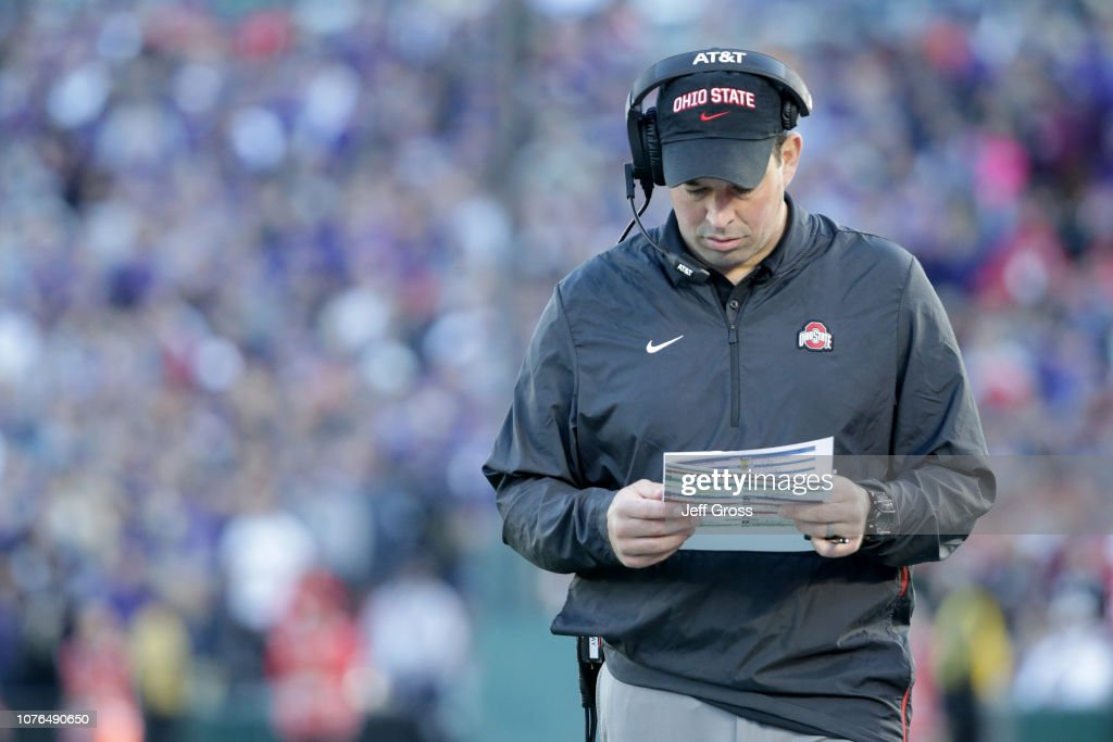 Rose Bowl Game Presented by Northwestern Mutual - Washington v Ohio State : Photo d'actualité