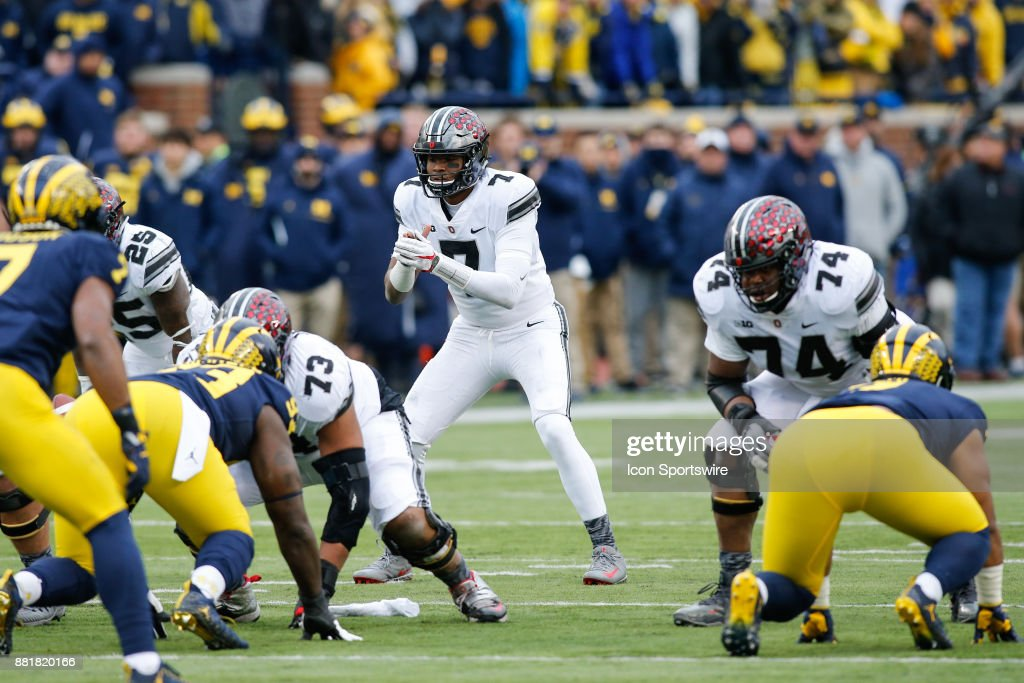 COLLEGE FOOTBALL: NOV 25 Ohio State at Michigan : News Photo