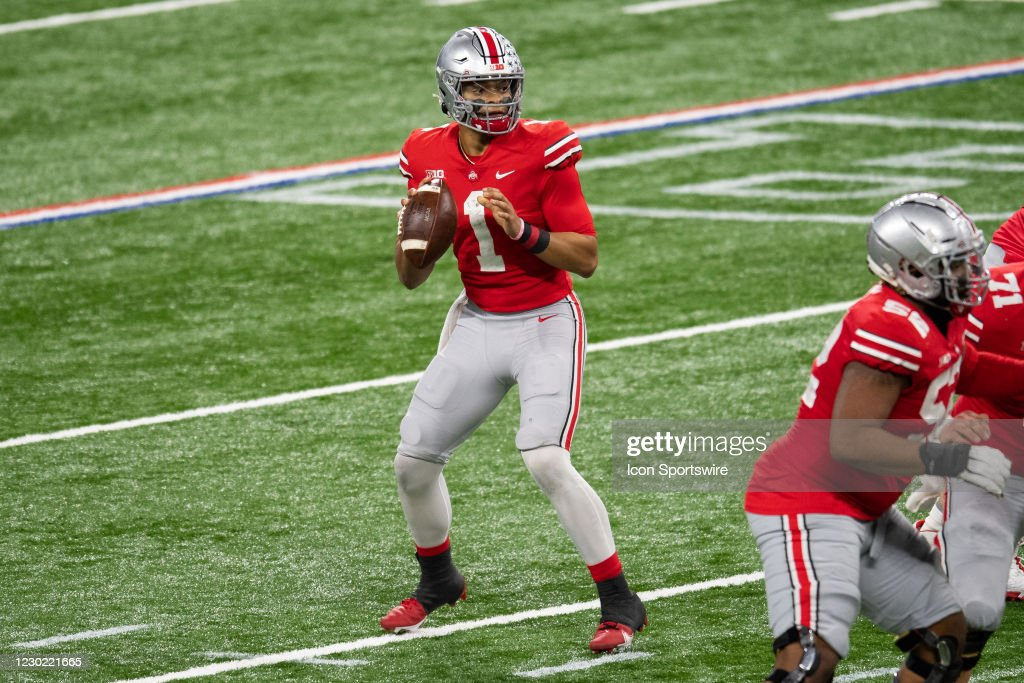 COLLEGE FOOTBALL: DEC 19 Big Ten Championship Game : News Photo