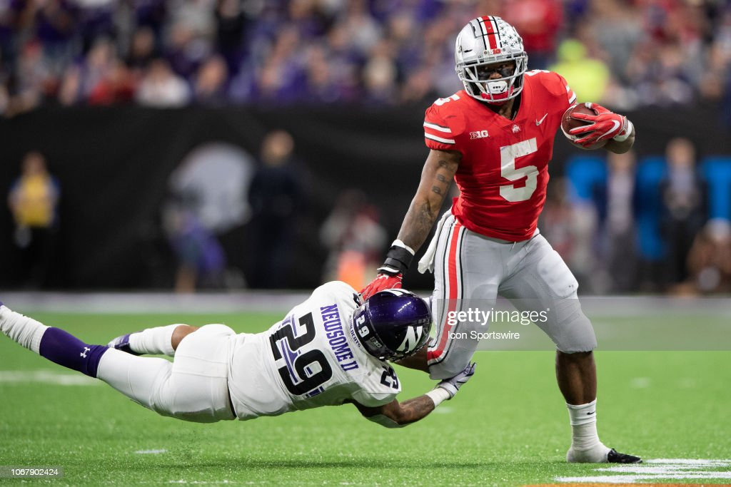 COLLEGE FOOTBALL: DEC 01 Big Ten Championship Game - Northwestern v Ohio State : News Photo