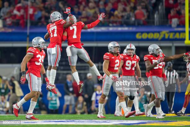 Ohio State Buckeyes safety Damon Webb during the Goodyear Cotton Bowl Classic football game between the USC Trojans and the Ohio State Buckeyes on...