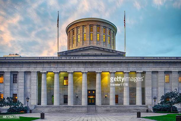 ohio state capitol building - ohio stock pictures, royalty-free photos & images