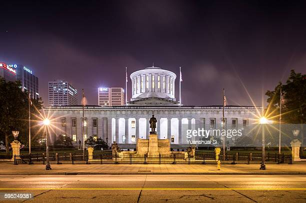 ohio state house - columbus ohio stock pictures, royalty-free photos & images