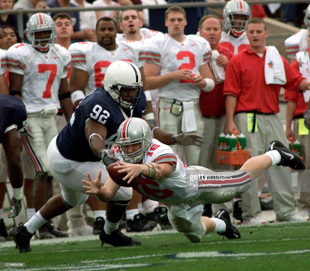 Ohio State vs Penn State November 1, 2003 : News Photo