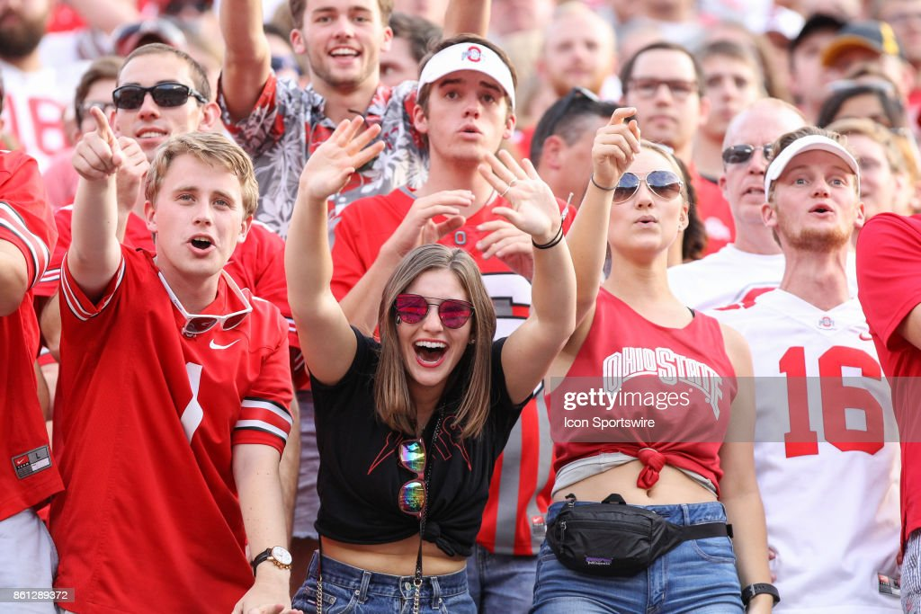 Ohio State Students Cheer During Game Action Between The Army Black News Photo Getty Images