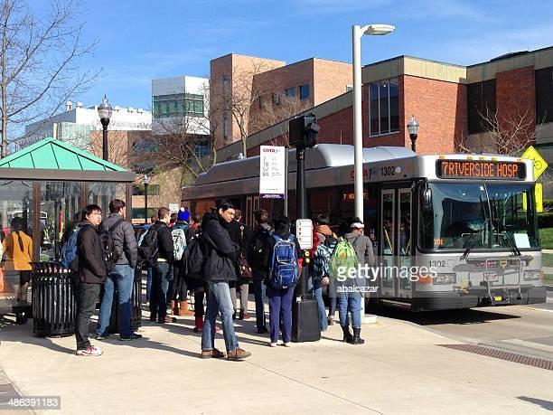 Ohio State University Bus stop