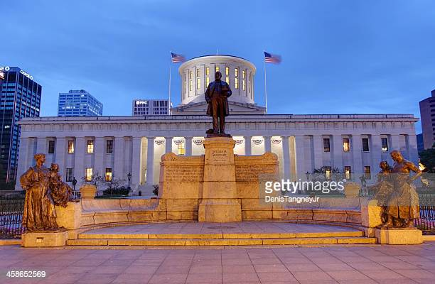 オハイオ州の議会議事堂 - オハイオ州庁舎 ストックフォトと画像