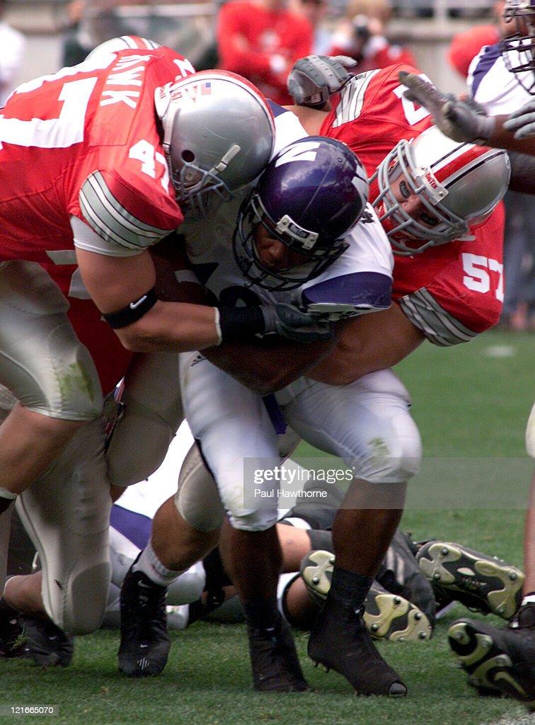 Northwestern vs Ohio State September 27, 2003