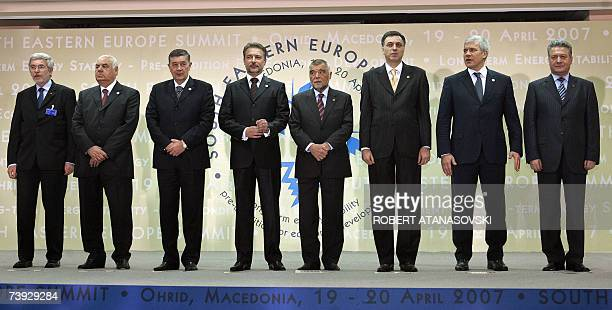 DeputyDirector of the European Commission Directorate General of Enlargement Jan Truszczynski and Presidents of Albania Alfred Moisiu Bosnia and...