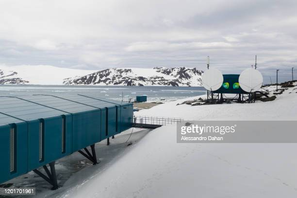 Oi Antarctic Internet Module on November 05 2019 in King George Island Antarctica