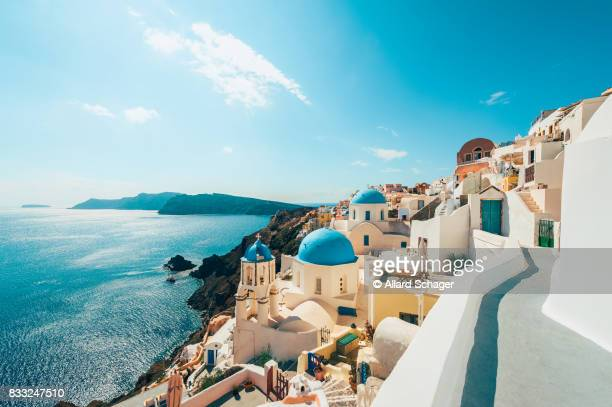 oia santorini greece - mediterranean sea stock pictures, royalty-free photos & images