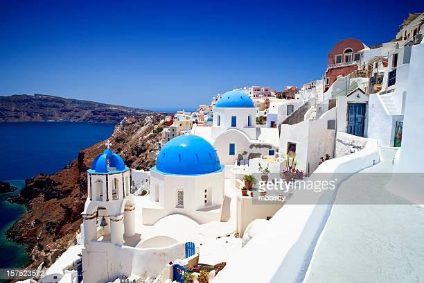 イア(Ia )ヴィラージュのサントリーニ島、ギリシャ